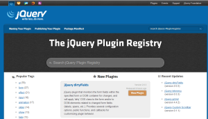jquery-plugins-registry