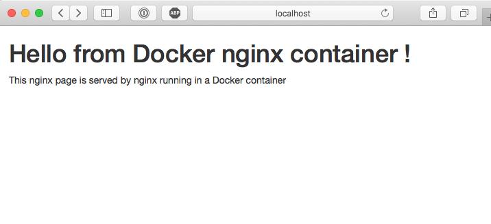 docker-nginx-custom-page