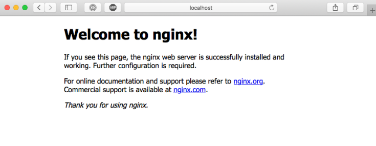 docker-nginx-welcome-page